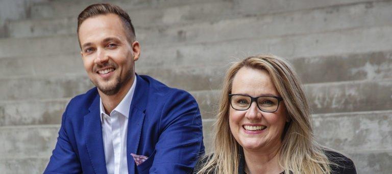 Mikko Koski and Krista Elopuro